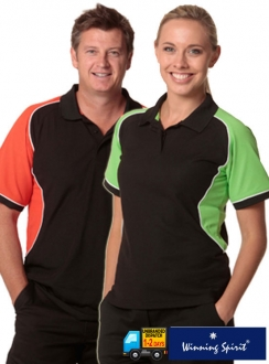 Conquest TrueDry Tri Colour Pique Polo
