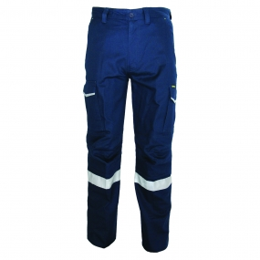 DNC 3386 Ripstop Cargo Pants with Reflective Tape