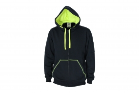 DNC 5424 Full Zip Super Brushed Fleece Hoodie