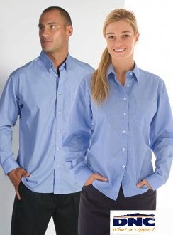 4122 DNC Chambray Business L/S Shirt