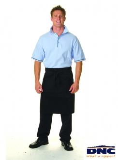 DNC Drill Half Apron With Pocket