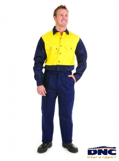3411 DNC Flame Retardant Drill Trousers