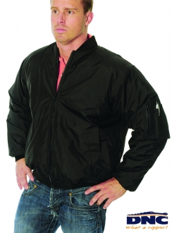 DNC Flying Jacket with Plastic Zips