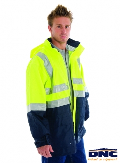 DNC HiVis Breathable 3M Rain Jacket