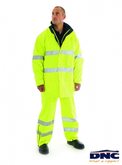 DNC HiVis Breathable  Anti-Static Jacket