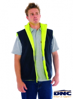 3865 DNC HiVis Reversible 3M Safety Vest