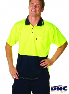 DNC HiVis Safety Polo