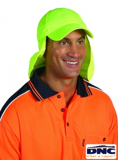 DNC HiVis  Cap with Flap