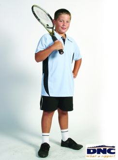 DNC Kids Cool-Breathe Side Panel Polo