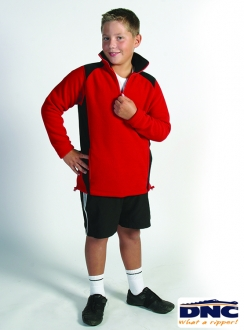 DNC Kids Side Panel Half Zip Polar Fleece