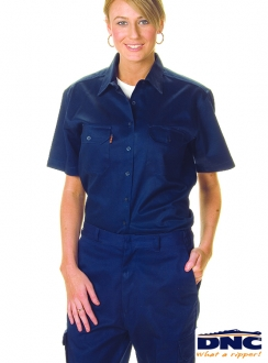 3231 Ladies Drill Work S/S Shirt
