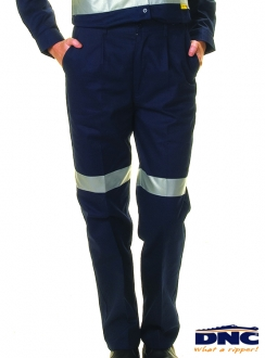 DNC Ladies Drill 3M Tape Trousers