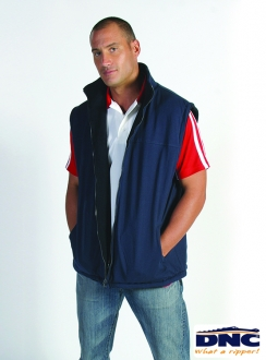 DNC Reversible Polar Fleece Vest