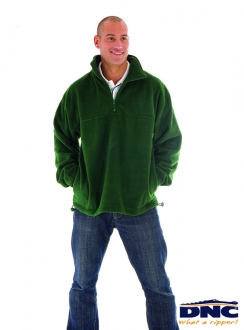 5321 DNC Unisex Half Zip Polar Fleece