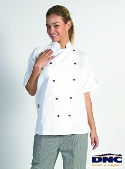 DNC Unisex Traditional S/S Chef Jacket