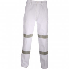 DOUBLE HOOPS TAPED CARGO PANTS