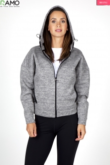 F361UN Ladies/Junior Space Hoodie