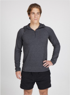 F393HZ Greatness Half zip Hood Mens