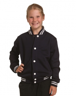 FL11K Kids Fleece Varsity Jackets