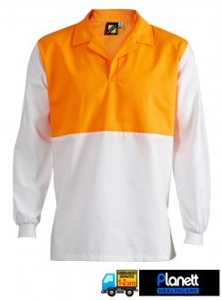 FOOD INDUSTRY HI VIS JAC LONG SLEEVE SHIRT