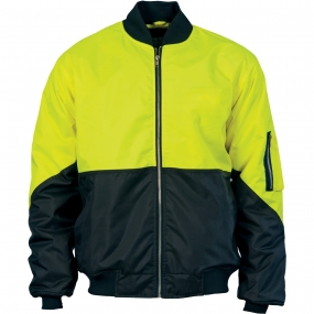 HIVIS 2 TONE DAY BOMBER JACKET