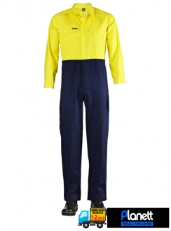 Hi-Vis Two Tone Coverall