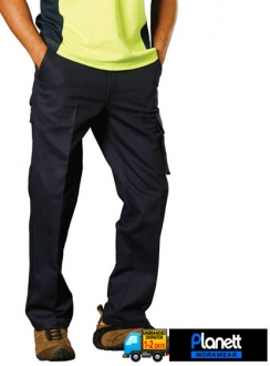 Heavy Cotton Pre-Shrunk Drill Pants Longer Leg