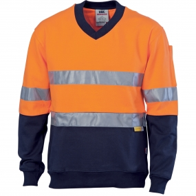 HiVis Fleecy R/Tape Sweater