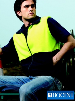 HiVis Polar Fleece Vest