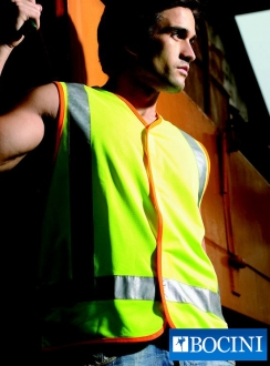 HiVis Vest with Reflective Tape
