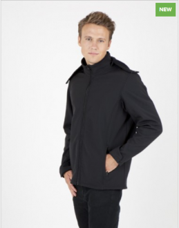 J483HZ Tempest Soft Shell Hooded Jacket Mens