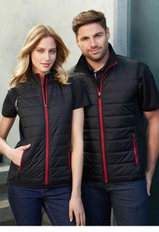 J616M Mens Stealth Quilted Vest