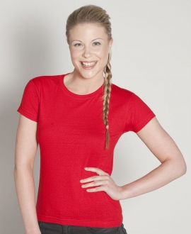 1LHT  Ladies Fitted Tee