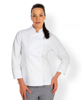 JB's Ladies L/S Chef Jacket
