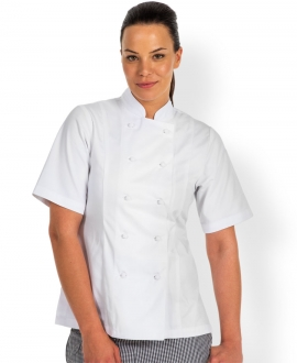 JB's Ladies S/S Chefs Jacket