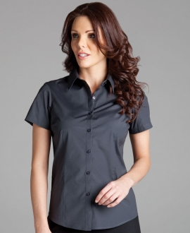 4PLUS Ladies Urban S/S Poplin Shirt