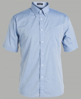 4FCSS JB's S/S Fine Chambray Shirt