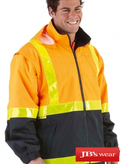 JBs Hi Vis A.T. Road Side Vest/Jacket