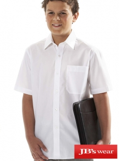 JBs Kids Short Sleeve Poplin Shirt
