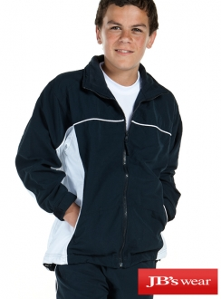 7KCWJ JBs Podium Kids Contrast Warm Up Jacket