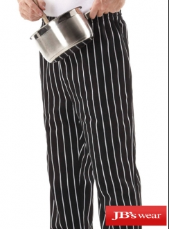 JBs Striped Chefs Pant