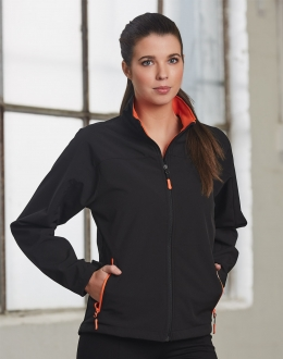 JK16 Ladies Softshell Sports Jacket