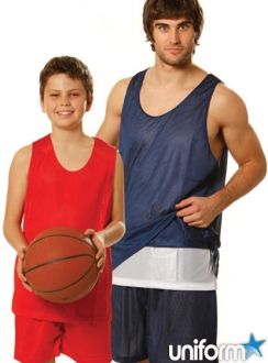 Kids Basketball Reversable Singlet