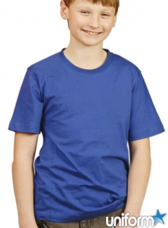 TS01KA Kids Cotton Crew Neck Tee