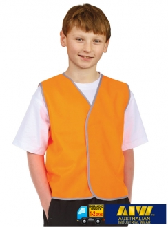 SW02K Kids HiVis Safety Vest