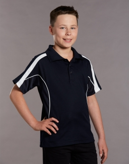Kids TrueDry Legend S/S Polo