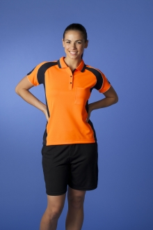 Ladie's Hi Viz Murray Polo with Pocket