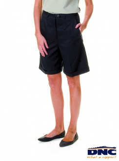 4551 Ladies PV Flat Front Shorts