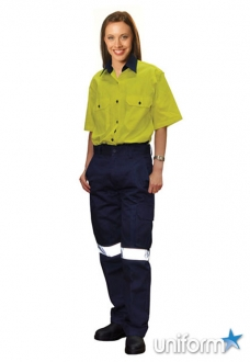 AIW Ladies Heavy Cotton Pre-shrunk Drill Pants