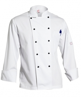 Lightweight Executive Chefs Jacket Long Sleeve